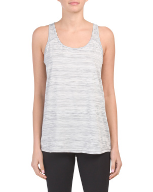 Striated Twist Back Tank