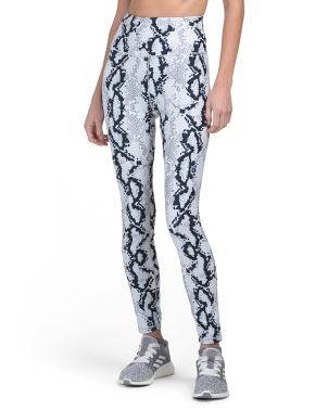 Lux High Waist Printed Leggings