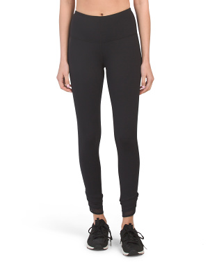 Lux High Waist Ankle Leggings