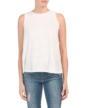 Insar Linen Knit Tank Top