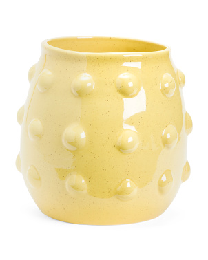 Made In Portugal Big Dots Ceramic Planter