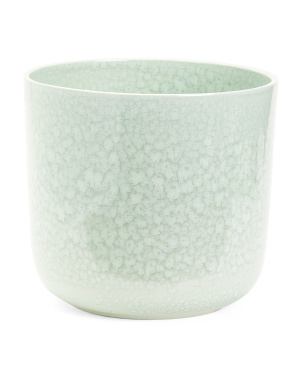 Reactive Glaze Ceramic Planter