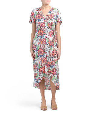 Jardin Maxi Dress Cover-up