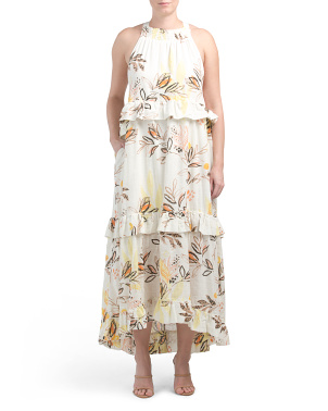 Anita Printed Maxi Dress