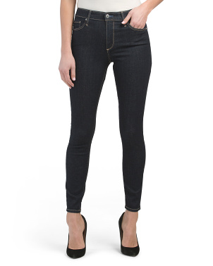 Farrah High Rise Skinny Ankle Jeans