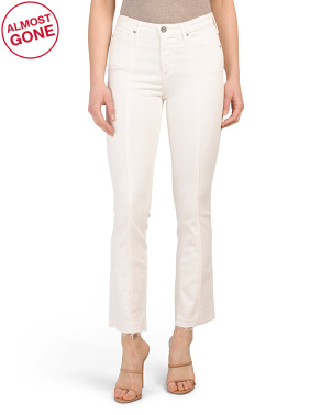 Jodi High Rise Slim Flare Crop Jeans
