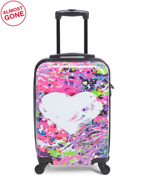 20in Peace And Love Hardside Carry-on