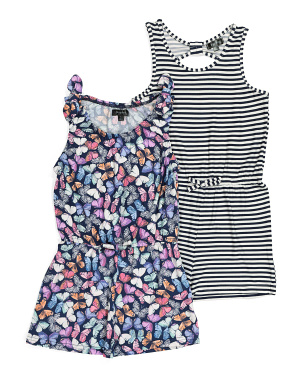 Little Girls 2pk Romper
