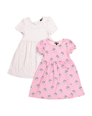 Big Girls 2pk Dresses