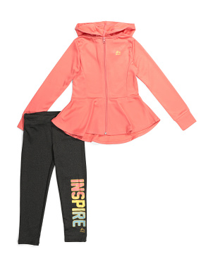 Big Girls 2pc Capri Legging Set