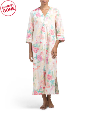 Floral Long Robe