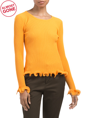Wired Edge Pullover Sweater