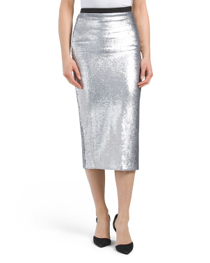 Sequin Paula Skirt