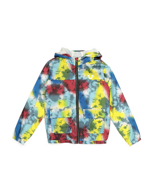 Big Boys Tie Dye Windbreaker