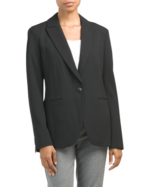 Elda Single Breasted Blazer Coat