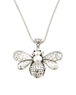 Made In Bali Bee Necklace