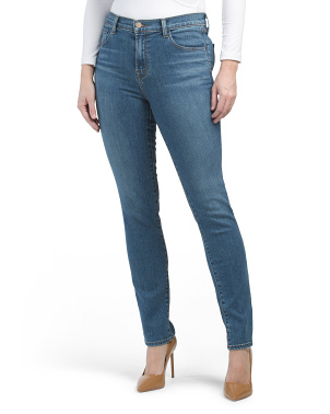 Ruby High Rise Cigarette Jeans
