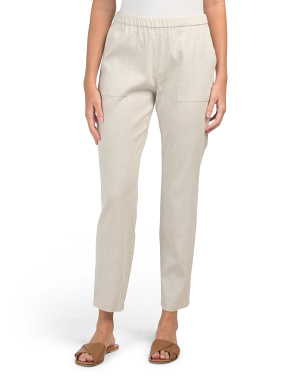 North Sound Linen Blend Pants