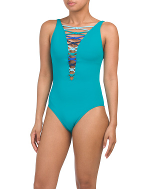 Lets Get Knotty One-piece Swimsuit