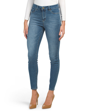 High Waist Muffin Eliminator Skinny Jeans