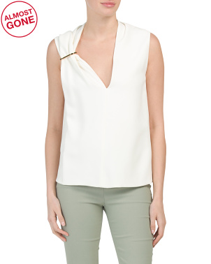 Made In France Sleeveless Top