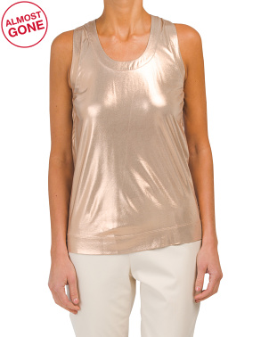 Made In Italy Metallic Tank