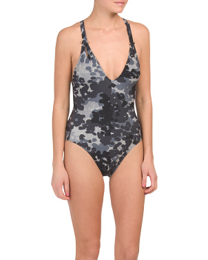 Eden V-neck One-piece Swimsuit