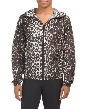 Leopard Print Wind Jacket