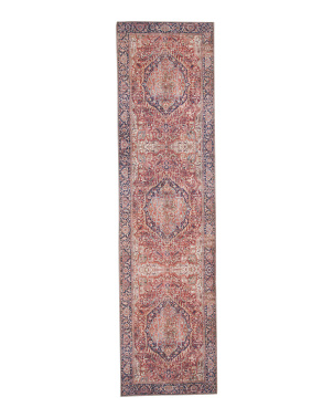 Made In Turkey Printed Flatweave Runner
