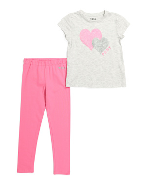 Little Girls 2pc Legging Set