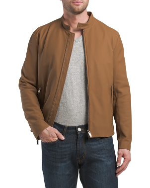 Wyndsor Leather Moto Jacket