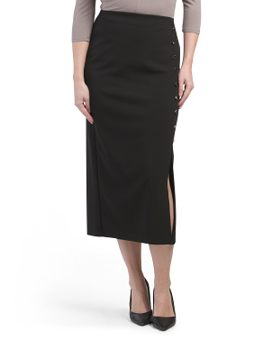 Long Slim Pencil Skirt
