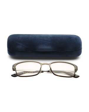Men's Made In Italy 52mm Designer Optical Glasses