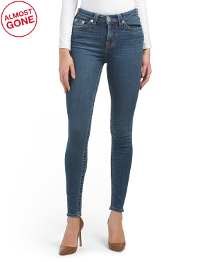 High Rise Halle Super Skinny Jeans