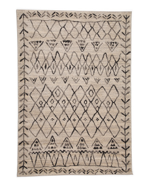 Made In Turkey 5x7 Boho Pattern Area Rug