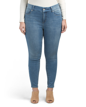 Plus Fit Solution Tummyless Skinny Jeans