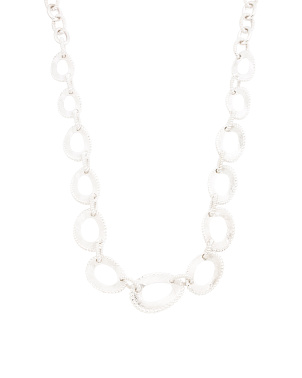 Sterling Silver Chunky Link Necklace