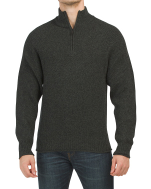 Stredwick Lambswool Collar Sweater