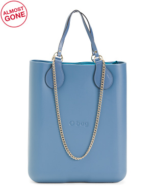 Made In Italy Chic Eva Compound Tote