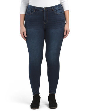 Plus Essential Skinny Jeans With Shaping Technology