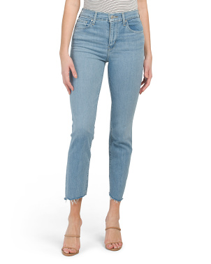 724 High Rise Straight Crop San Francisco Jeans