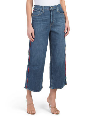 Mile High Wide Leg Pipe Down Jeans