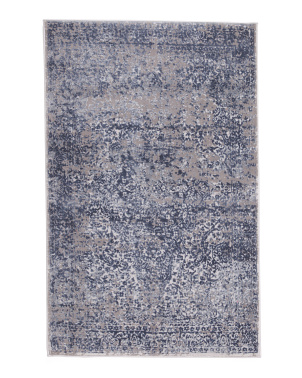 Made In Turkey 2x4 Textured Modern Scatter Rug