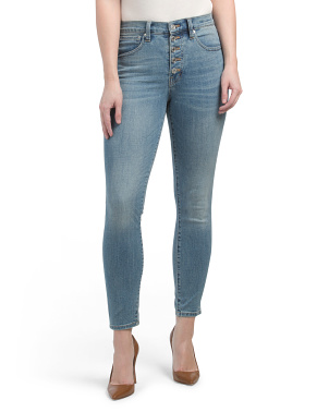 High Rise Bridgette Skinny Jeans