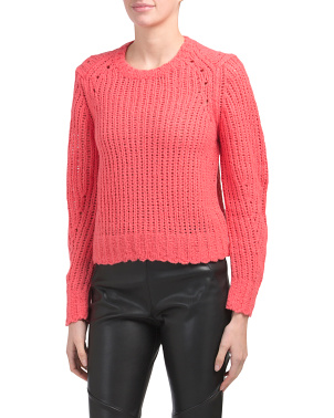 Merino Wool Arizona Crew Neck Sweater