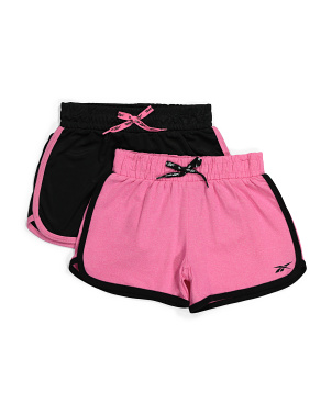 Big Girls 2pk Interlock Shorts