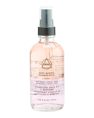 3.93oz Rose Quartz Hydrating Oil And Perfume