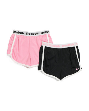 Big Girls 2pk Mesh Shorts
