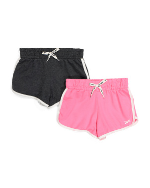 Big Girls 2pk Terry Shorts