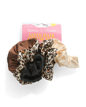 5pk Satin Scrunchies